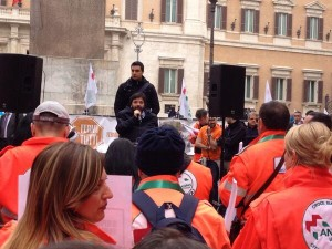 L'intervento di Pietro Barbieri, portavoce del Forum Nazionale del Terzo Settore