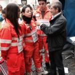 Il Grs intervista i giovani volontari da piazza Montecitorio