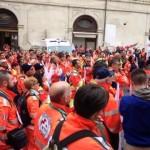 Volontari in piazza